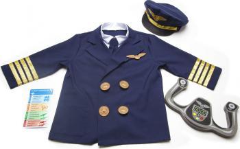 Costum Pilot de Avion Melissa and Doug Costume serbare
