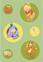 Covor copii Green Pooh model 403 160x230 cm Disney Accesorii camera copil