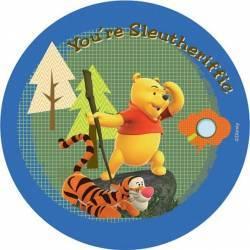 Covor copii rotund Pooh model 604 140x140 cm Disney  Decoratiuni camera