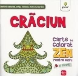 Craciun - Carte De Colorat Zen Pentru Copii Si Parinti