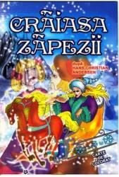 Craiasa Zapezii dupa Hans Christian Andersen - Carte de colorat