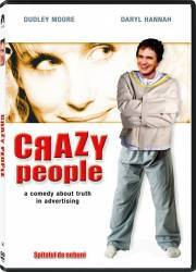 Crazy People DVD 1990 Filme DVD