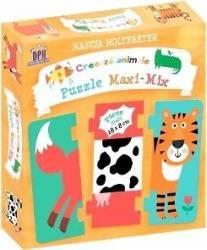 Creeaza animale. Puzzle Maxi-Mix - Nastja Holtfreter