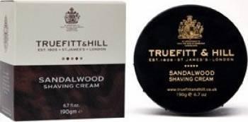 Crema de barbierit Truefitt and Hill Sandalwood la cutie Gel de Ras si Aftershave