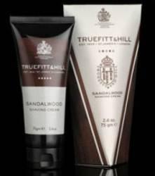 Crema de barbierit Truefitt and Hill Sandalwood la tub Gel de Ras si Aftershave