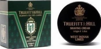 Crema de barbierit Truefitt and Hill West Indian Limes la cutie Gel de Ras si Aftershave