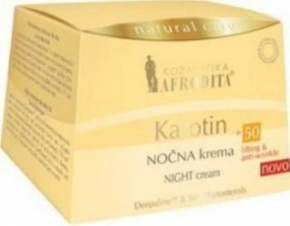 Crema de noapte Cosmetica Afrodita Karotin +50 Creme si demachiante