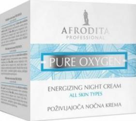 Crema de noapte Cosmetica Afrodita Pure Oxygen 50ml Creme si demachiante