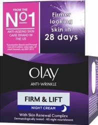 Crema de noapte Olay Anti-Wrinkle Firm and Lift