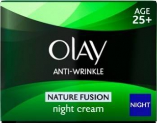 Crema de noapte Olay Anti-Wrinkle Nature Fusion - Night