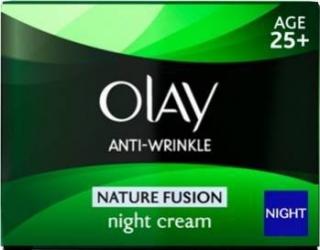 Crema de noapte Olay Anti-Wrinkle Nature Fusion - Night