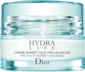 Crema de ochi Christian Dior Hydra Life Pro-Youth Sorbet 15ml Creme si demachiante