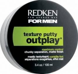 Crema de par Redken Outplay Texture Putty 100ml Crema, ceara, glossuri