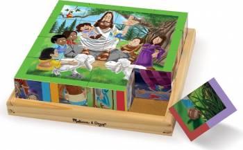 Cuburi Puzzle Noul Testament Puzzle si Lego