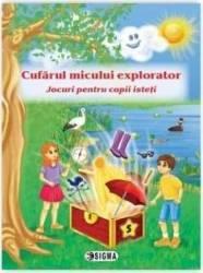 Cufarul micului explorator 5. Jocuri pentru copii isteti