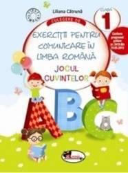 Culegere de exercitii pentru comunicare in limba Romana cls 1 - Liliana Catruna