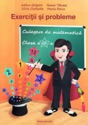 Culegere de Matematica Clasa a 3-a Exercitii si probleme 2018 - Adina Grigore