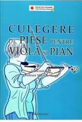 Culegere de piese pentru viola si pian - Nicolae Varga