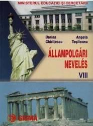 Cultura civica - Clasa 8 - Manual. Lb. maghiara - Dorina Chiritescu Angela Tesileanu