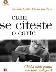 Cum Se Citeste O Carte - Mortimer J. Adler Charles Van Doren