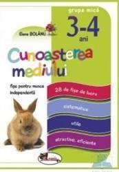 Cunoasterea mediului 3-4 ani Grupa mica fise - Elena Bolanu