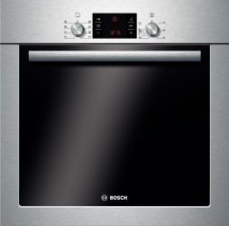 Cuptor incorporabil Bosch HBA43T350 Electric 62L Grill Clasa A Argintiu Cuptoare Incorporabile