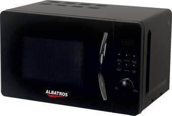 Cuptor cu microunde Albatros MWA-20D3B 20L 700W Electronic Negru