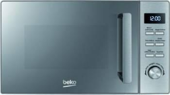 Cuptor cu microunde Beko MGF20210X, 20 l, 800W, Electronic, Grill, Inox