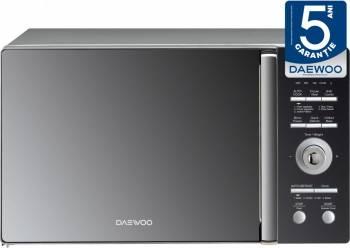 Cuptor cu microunde Daewoo KOG-8A8RM, 23 l, 800 W, Grill, Digital, Negru oglinda Cuptoare cu microunde