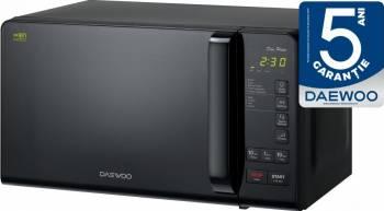 Cuptor cu microunde Daewoo KOR-6S3DBK 800W 20L 11 Nivele de putere Afisaj LED Negru Cuptoare cu microunde