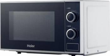Cuptor cu microunde Haier HGN-2070M 700W 20L 6 nivele de putere Alb