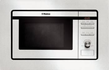 Cuptor cu microunde incorporabil Hansa AMM20BEIH 20L 800W 5 nivele de putere Argintiu Cuptoare cu microunde