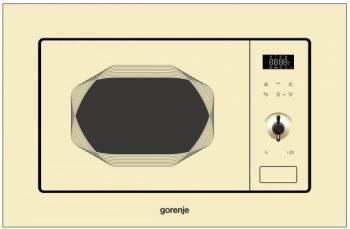 Cuptor cu microunde incorporabil Gorenje BM201INI 800W 20L Bej