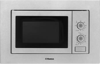 Cuptor cu microunde incorporabil Hansa AMM20BMXH 20L 800W 5 nivele de putere Combigrill Argintiu Cuptoare cu microunde