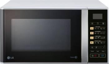 pret preturi Cuptor cu microunde LG MH6342BS 800W 23L Grill Afisaj LED Argintiu