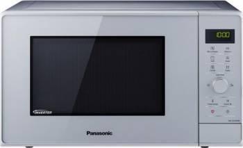 Cuptor cu Microunde Panasonic NN-GD36HMSUG Grill 23L 1000W 17 Programe Tehnologie Inverter Argintiu Cuptoare cu microunde