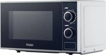 Cuptor cu microunde Haier HGN-2070MG 700W 20L 5 nivele de putere Grill Timer Alb