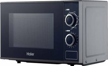 Cuptor cu microunde Haier HGN-2070MGS 700W 20L 5 nivele de putere Grill Argintiu