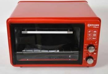 Cuptor Electric 32L Ertone ERT-MN-9030 1400W 32L Termostat reglabil Rosu