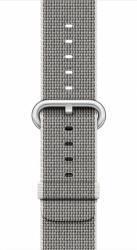 Curea Apple Watch 38mm Woven Nylon - Gri deschis Accesorii Smartwatch