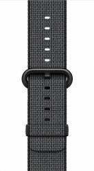 Curea Apple Watch 38mm Woven Nylon - Negru Accesorii Smartwatch