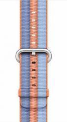 Curea Apple Watch 38mm Woven Nylon - Portocaliu deschis Accesorii Smartwatch