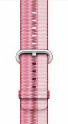 Curea Apple Watch 38mm Woven Nylon - Rosu inchis Accesorii Smartwatch
