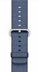 Curea Apple Watch 42mm Woven Nylon - Albastru inchis Accesorii Smartwatch