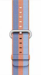 Curea Apple Watch 42mm Woven Nylon - Portocaliu deschis Accesorii Smartwatch