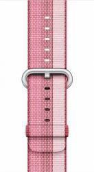 Curea Apple Watch 42mm Woven Nylon - Rosu inchis Accesorii Smartwatch