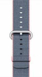 Curea Apple Watch 42mm Woven Nylon - Roz Accesorii Smartwatch