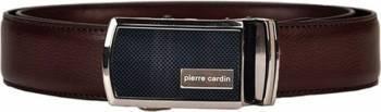 Curea barbati din piele naturala Pierre Cardin GCB203-125 cm - Ajustabila-Maro Genti Barbati