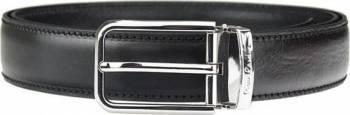 Curea barbati din piele naturala Pierre Cardin GCB212-Negru-110 cm - Ajustabila Genti Barbati