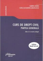 Curs de drept civil. Partea generala - Boroi Gabriel Carla Alexa